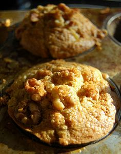 Tropical pineapple coconut muffin
