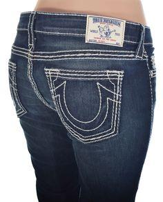 True Religion Womens Skinny Jeans Size 31 Basic Big T Super T Nat NWT $310 #TrueReligion #SlimSkinny