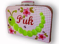 Suitcase with own name!    29,95 euro    www.kinderwebwinkel.com
