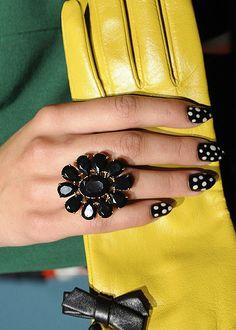 Pointy Polka Dots at Kate Spade