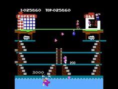 Popeye by Nintendo for the Nintendo Entertainment System #NES - Longplay by razorbulan