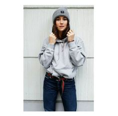 Lena Lademann wearing the EQL hat & hoodie