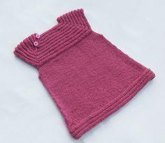 Free Baby Dress Knitting Pattern - after the tunics!
