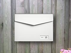 MEFA Letter White Mailbox