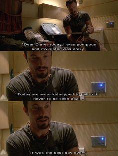 Simon's diary. #firefly