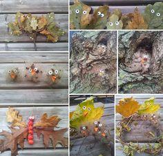 DIY autumn nature animals