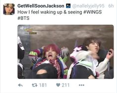 #BTS #wings Everyday I wake up and the first thing I do is the to check the new bts wings trailer