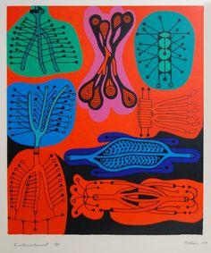 Alfred Pellan • Embranchement (1973) ••• La Corniche Galerie d'art, Saguenay/Lac-St-Jean • Chicoutimi Club D'art, Art Club, Alfred Pellan, Clarence Gagnon, Beaux Arts Paris, Art Plastique, Illustration Art, Illustrations, Art Gallery