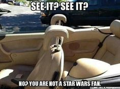 Star Wars fans get it...