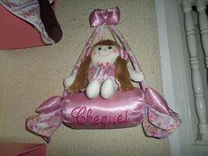 Decoração para porta do quarto meninas e menino poderá ter o nome do bebê ou o nome cheguei.