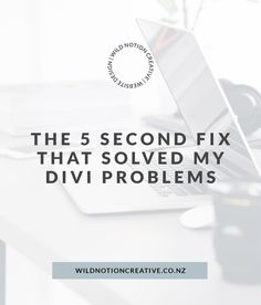 The 5 second fixed that solved a lot of my Divi problems Web Design, Social Media, Website, Creative, Design Web, Social Networks, Website Designs, Social Media Tips, Site Design
