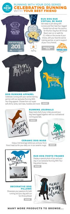 Introducing our new line, to celebrate running with your best friend!