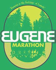 Eugene Marathon- the first stop in Winter's World Marathon Tour for Prostate Cancer! Winter ran a 3:45:04, not bad for a 13 y/o chasing down and stomping out prostate cancer. North America is complete, next stop...Africa