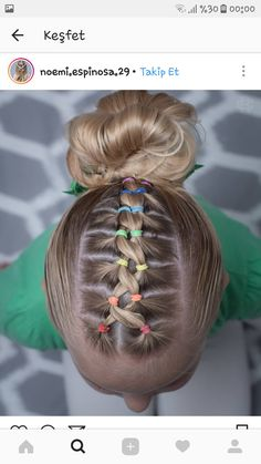 160 Braids Hairstyle Ideas for Little Kids 2019 - Kinder frisuren - Braided Hairstyles Girls Hairdos, Baby Girl Hairstyles, Kids Braided Hairstyles, Box Braids Hairstyles, Hairstyle Ideas, Toddler Hairstyles, Short Hairstyles For Kids, Hairstyle For Kids, Pretty Hairstyles