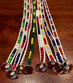 Wrap Bracelets in Team Colors check us out at myteamwraps@myshopify.com