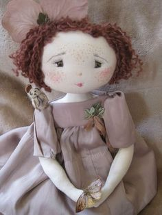 French cloth doll.