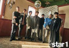 BTOB's Sungjae says Lee Seung Gi is a sunbae who is already on the path he wants to be on Sungjae Btob, Lee Changsub, Minhyuk, Im Hyun Sik, Born To Beat, Grazia Magazine, Lee Seung Gi, Cube Entertainment, Boy Groups