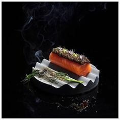 Salmon, Caviar & Smoke created for Le Lapin, Macau. Photo by @daphotographer assisted by @yann2705 #food #foodie #foodart #foodporn #fourmagazine