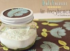 DIY baking soda air freshener
