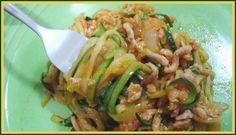 Recetas Dukan By Julycar: Espaguetis de calabacin a la boloñesa