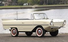 Just seen one of these in the Avengers - it's and 1966 Amphicar. Why are modern cars all so deadly dull?
