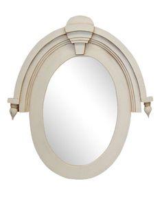 19th Century Window Mirror