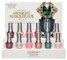 Morgan Taylor Midnight Masquerade Collection Winter 2014/2015 #nailsdesign #nailpolish #beauty #naillacquer #nails #manicure #nailcare