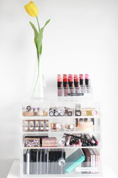 The Black Pearl Blog - UK beauty, fashion and lifestyle blog: Makeup Storage: Her ClutterBox