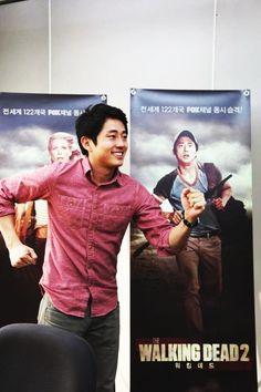 Steven Yeun - Glenn, The Walking Dead