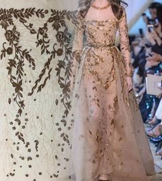 Beaded Lace Fabric, Beaded Embroidery, Wedding Dress Sketches, Evening Dresses, Formal Dresses, French Lace, Floral Lace, Fabric Design, Wedding Gowns