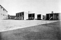 mario asnago e claudio vender - case coloniche tenuta castello, pavia, 1937