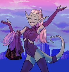 Fanart, Character Art, Character Design, She Ra Princess Of Power, Cartoon Shows, Double Trouble, Animation Series, Game Art, Anime