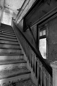 Ascend - Photo of the Abandoned Adonia State Hospital