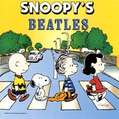 ah better, i knew Linus belonged there before Marcie.  and if this is a real record, why don't i have it?!  Snoopy + The Beatles = 2 of my favorite things.