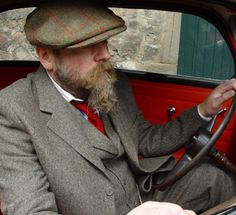 Scottish Tweed - Collections | Walker Slater - Tweed Specialists - love the hat !