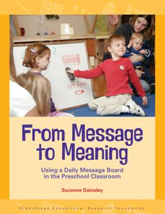 This book describes the benefits of using a daily message board at greeting time, guides teachers through the process of creating messages, and offers strategies for making the message board an engaging and interactive experience for children.