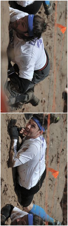 Jared and Jensen at the Central Texas Tough Mudder on May 2nd 2015