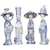 Bjorn Wiinblad 'The Four Seasons' Ceramic Figurines | 1stdibs.com