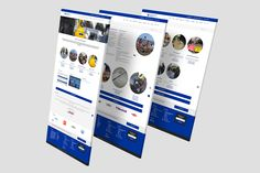 Branding and Website re-design for Civil Safety Engineering #Creative #Branding #Web #Design #Marketing