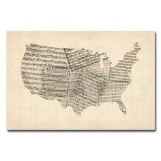 Sheet Music Art
