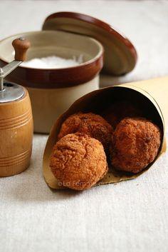 Milk and fish croquette - Sicilian street food