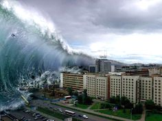 Seconds From Disaster - Tsunami, The Deadly Tidal Wave That Shook The World Natural Phenomena, Natural Disasters, Mother Earth, Mother Nature, Gaia, Tsunami Waves, Best Instagram Photos, Wild Weather, Creative Pictures