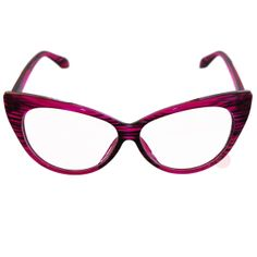 53499f497b Details about 50 s Cat Eye Clear Glasses Pink Retro Rockabilly Pin Up  Pointed Costume Grease