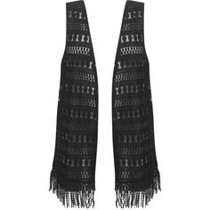 Black Fringed Vest ($36) ❤ liked on Polyvore featuring outerwear, vests, jackets, sweaters, womens plus size vests, plus size vest, plus size fringe vest, vest waistcoat and fringe vest