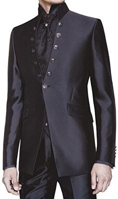 INMONARCH Mens Reception Black 5 pc Tuxedo Suit TX275 36L Black  - Click image twice for more info - See a larger selection of wedding tuxedo at http://zweddingsupply.com/product-category/tuxedo/ - groom,wedding, wedding style, wedding fashion, wedding ideas.