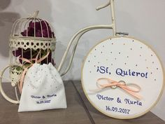 Ideas Para, Wedding Details, Leo, Organization, Embroidery, Etsy, The Originals, Satin Bows, Wedding Stationery