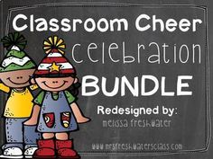 """This pack is for 69 different classroom cheers and celebration chants! Motivate your kiddos and have some """"fun"""" during your school day with these attention grabbers and celebration cheers. This zip file includes cheers cards Vol 1 and Vol plus the POSTER Behavior Management, Classroom Management, Classroom Cheers, Classroom Ideas, Cheer Posters, Reading Street, Teaching Tools, Motivate Yourself, Teacher Newsletter"""