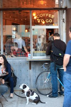 Coffee & Cuties: Snaps From NYC's Best Coffee Shops #refinery29