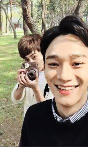 Xiuchen <3 Finally!!!! I love their bromance....or marriage according to Xiumin.