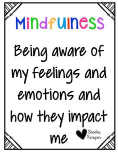Mindfulness helps students focus and stay engaged. It is especially great to use with students that are struggling with ADHD and social and emotional problems.